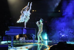 Copeland performs with Prince on his 2011 Welcome 2 America at Madison Square Garden, New York.