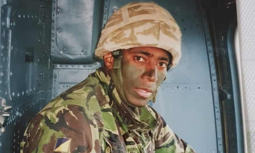 Taitusi Ratucaucau serving in the British army in Afghanistan in 2009
