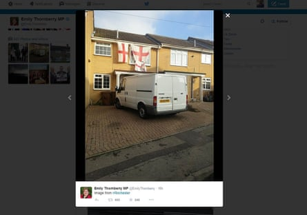 The tweet which led to Emily Thornberry's resignation.