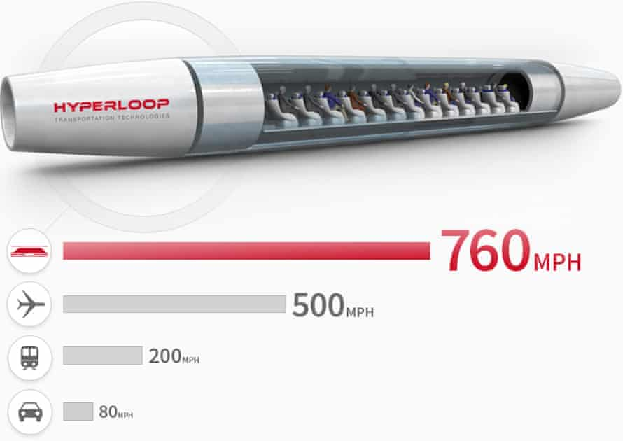 A trip from Bratislava to Vienna could take about eight minutes on Hyperloop.
