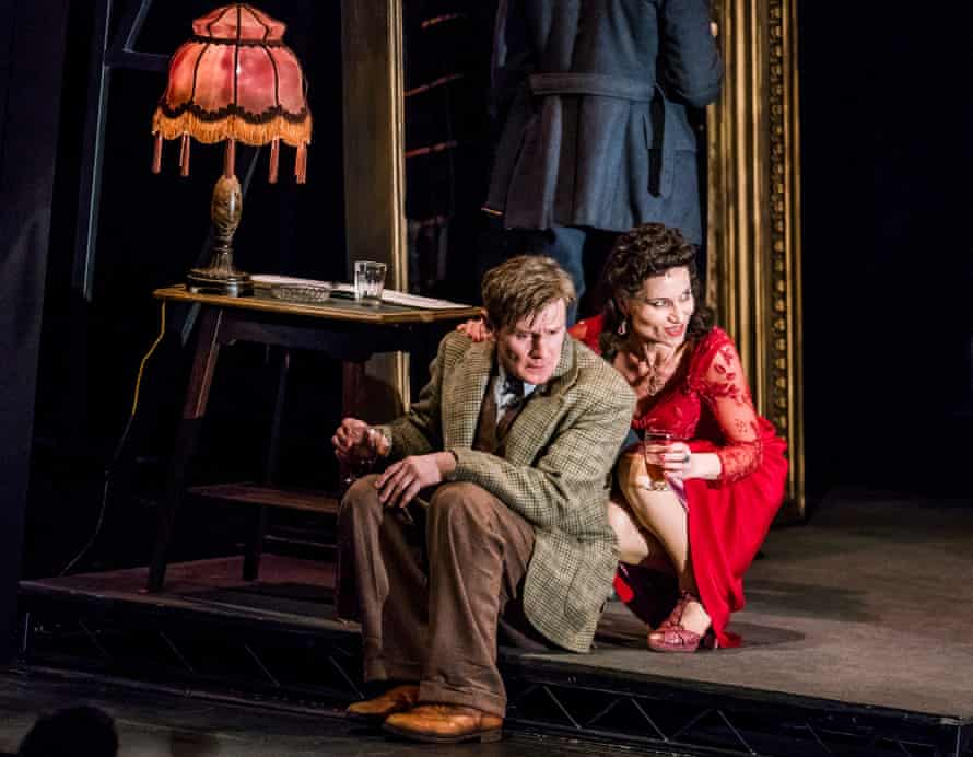 Charles Edwards and Kate Fleetwood in Rodney Ackland's Absolute Hell.