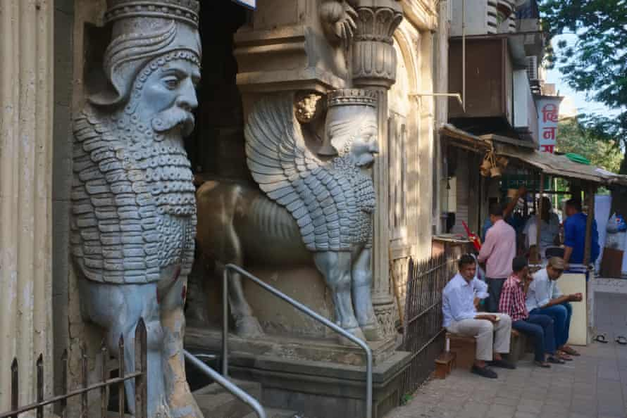 A Parsi fire temple in the Fort district of Mumbai, India.