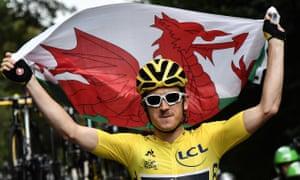 British cyclist Geraint Thomas