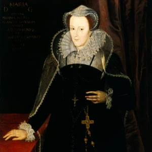 Portrait of Mary, Queen of Scots in the Scottish National Portrait Gallery.