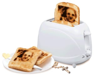 The Pope Toaster brands the pope's image on to your toast