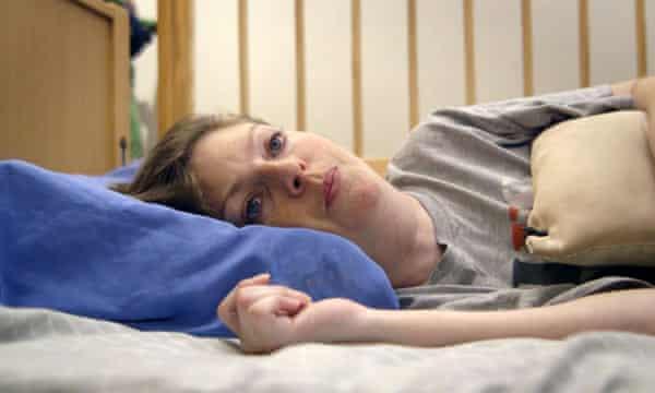 Immobilising pain … Martine.
