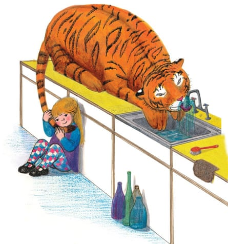 The Tiger Who Came To Tea, by Judith Kerr.