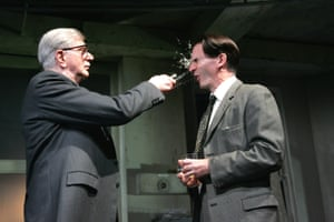 The Hothouse Stephen Moore (Roote) and Paul Ritter (Lush), directed by Ian Rickson, Lyttelton Theatre, 2007