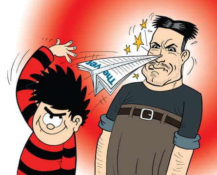 Dennis the Menace with the Observer