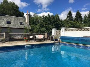swimming pool Birnam Glen, Perthshire