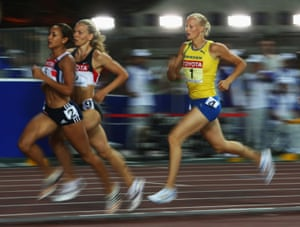 2007 Recording the fastest times in the three track events at the World Athletics Championships in Osaka unfortunately wasn't enough for Ennis to medal as she finished in fourth place