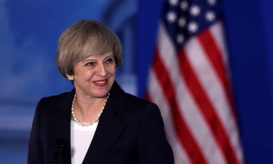 Theresa May's speech was pitch-perfect in its flattery of America.