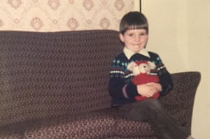 Colin Crummy, aged six, at home in Creggan, Northern Ireland.
