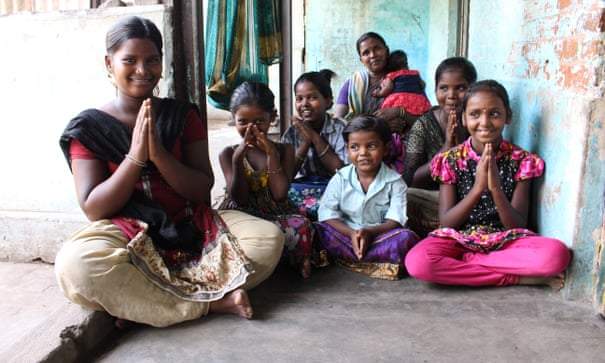 Indian village run by teenage girls offers hope for a life