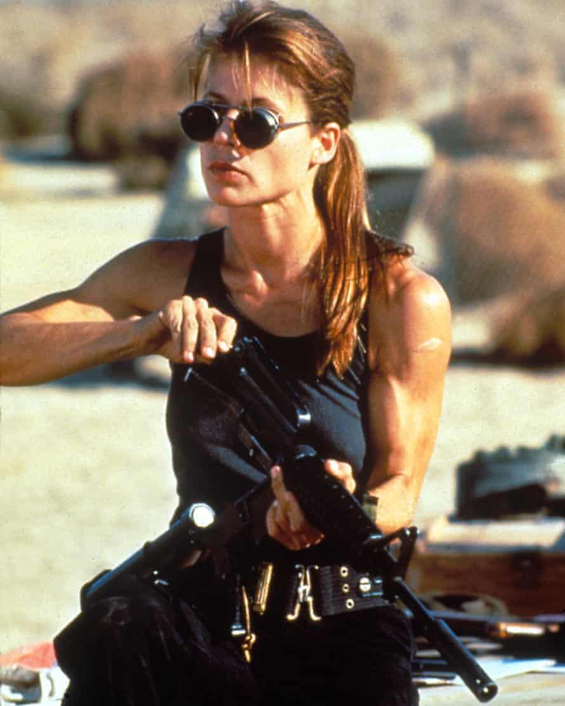 Uninterested in pleasing anyone … Linda Hamilton in Terminator 2.