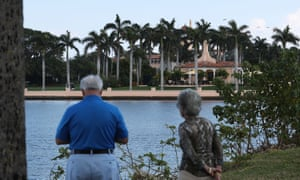Mar-a-Lago, Donald Trump's Florida residence. Zhang allegedly told a Secret Service agent she was a Mar-a-Lago member and was allowed to use the pool.