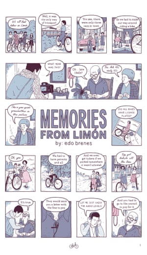 Edo Brenes Memories From Limon Page 01