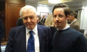 David Attenborough and Chris Michael