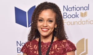 Jesmyn Ward at the US National Book awards.