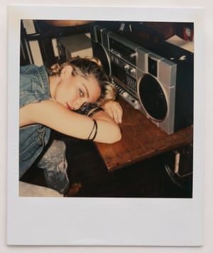 Polaroid images of Madonna, shot on Friday 17th June 1983
