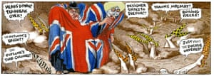 Steve Bell's If ... © Steve Bell 2018 Theresa May in Brexit hell