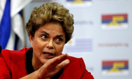 Dilma Rousseff has accused Michel Temer of treachery after he took over the presidency when she was removed.