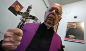 Gabriele Amorth, exorcist in the diocese of Rome