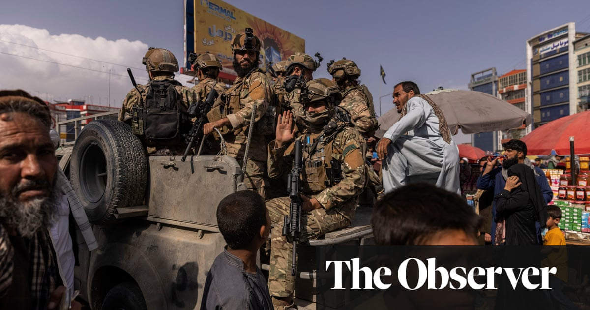 Taliban offer restraint … but all the signs suggest that it's only for show