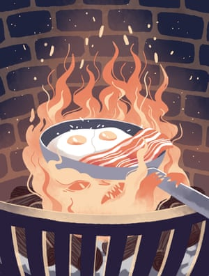 "Rebecca Dennis, Boughton under Blean, UK'""I hope your bacon burns,"" Calcifer said, muffled under the pan.'"