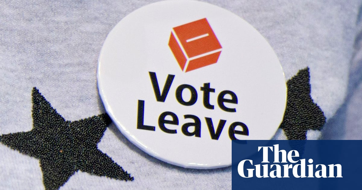 27cf9517041 Vote Leave broke electoral law and British democracy is shaken. The record  is not ...