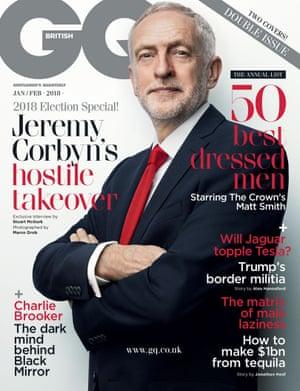 Corbyn on GQ cover