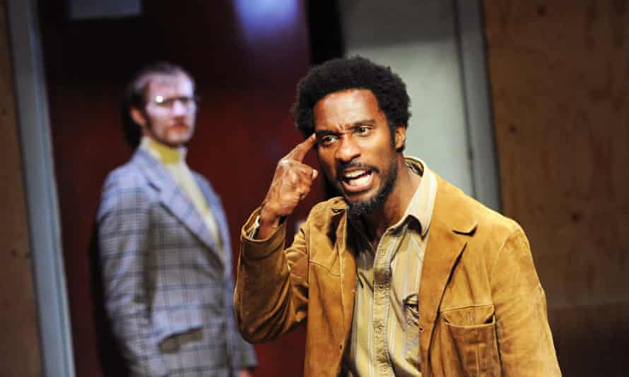 Laurence Spellman, left, and Clint Dyer in Sus, by Barrie Keeffe, at the Young Vic in 2010.