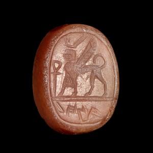 Jasper seal from the Ashmolean Museum