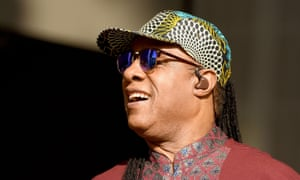 Stevie Wonder performs his British Summer Time festival gig in Hyde Park.