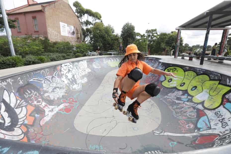 Sugu Valbuena Sanchez at the Sydenham skate park
