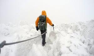 Kevin summit Chimborazo