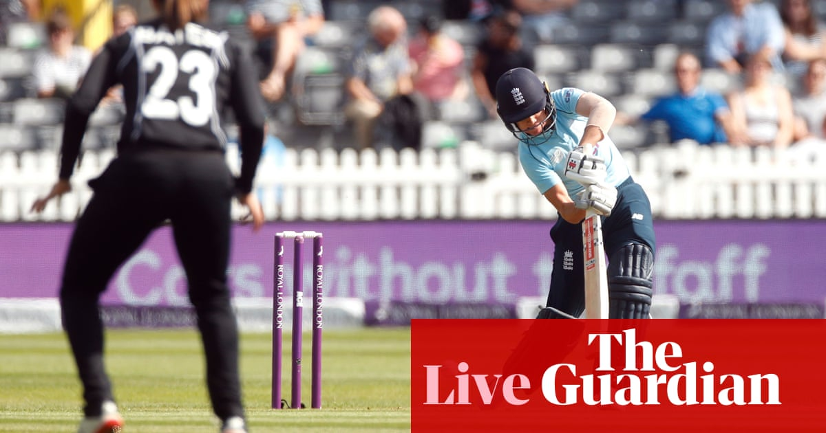 England v New Zealand: first women's one-day international – live!