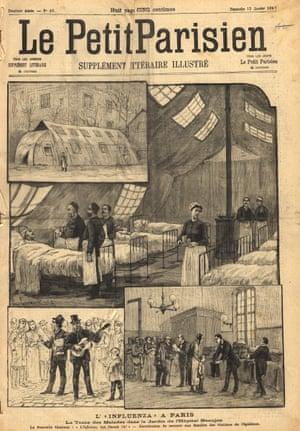 Le Petit Parisien, daté du 12 janvier 1890.