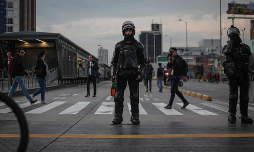 The hardline response to anti-government protests of the Esmad riot police –who have fired teargas, flash bangs and 'less lethal' bean bag rounds at peaceful protesters – has only fanned discontent.