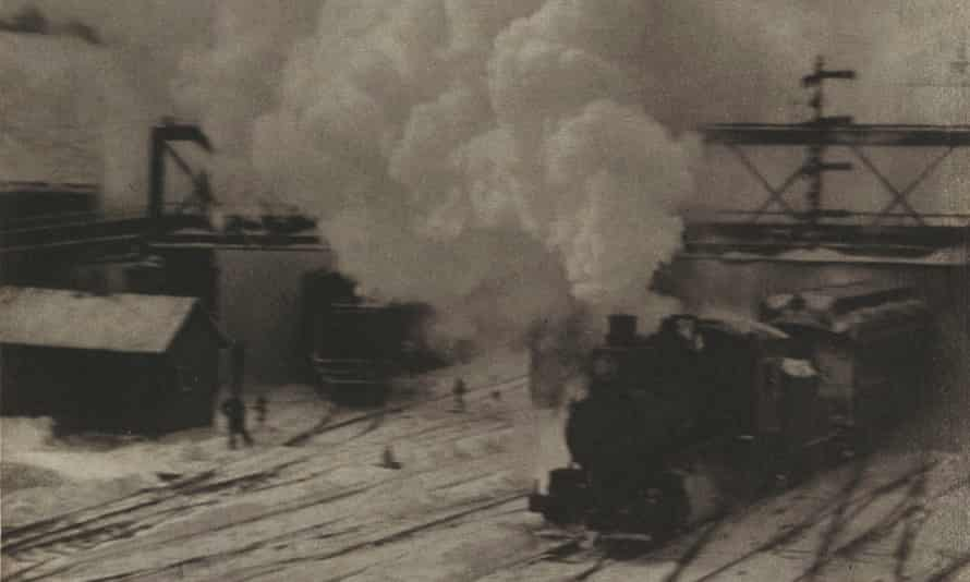 A steam train from The New York Central Yards, 1904, by Alfred Stieglitz