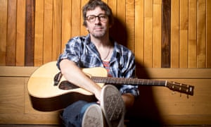 English musician Graham Coxon, photographed at Konk Studios in north London. 22 August 2018.