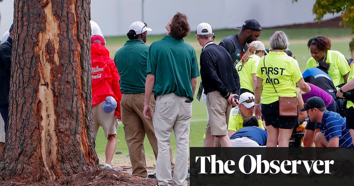 Lightning at Tour Championship leaves six golf spectators in hospital