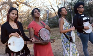 Left to right: Rhiannon Giddens, Leyla McCalla, Allison Russell and Amythyst Kiah … Our Native Daughters