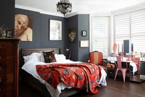 Sue Tilley's bedroom St Leonards