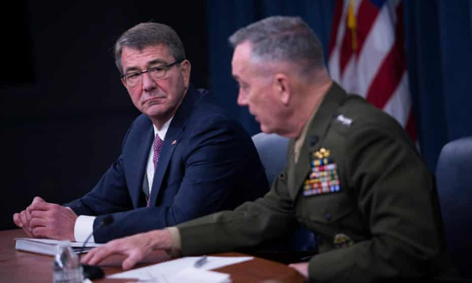 US secretary of defense Ashton Carter Carter told reporters the US was will likely increase cyberstrikes he likened to the traditional disruption of enemy command networks.