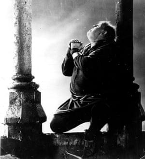 Charles Laughton as Quasimodo.