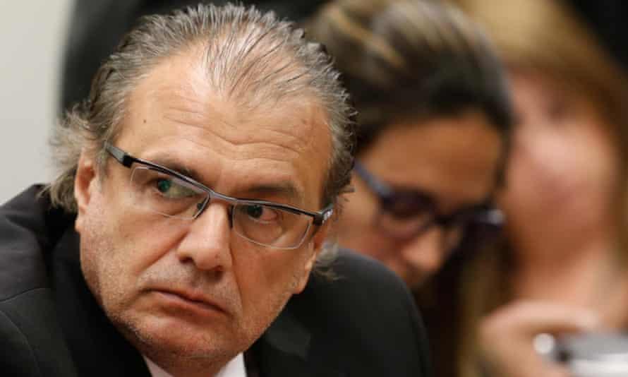 Former Petrobras executive Pedro Barusco