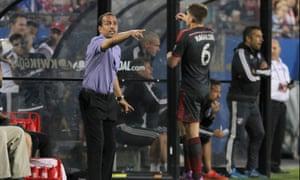 FC Dallas coach Oscar Pareja.