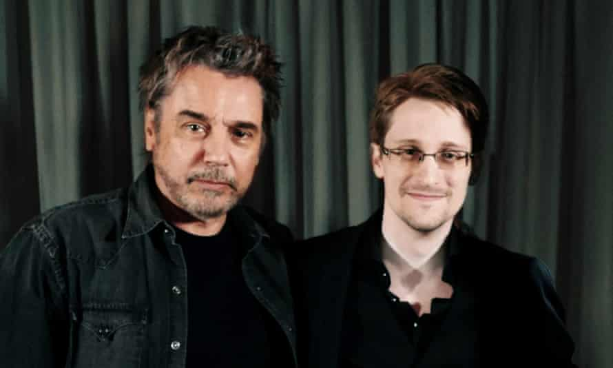 Jean-Michel Jarre and Edward Snowden: together in electric dreams.