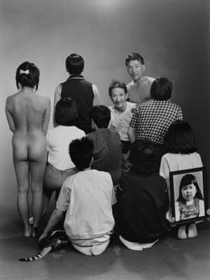 An image from Masahisa Fukase's series Family.